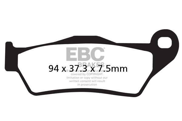 Front HH Brake Pads KTM SUPERMOTO 620 625 640 LC4-E SXC