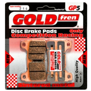GOLDfren TYP 039 GP5 Brake Pads