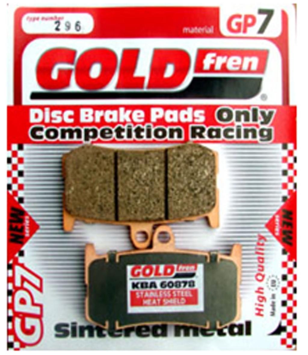 Goldfren Rear Brake Pads Suzuki GSF650 Bandit 05-06