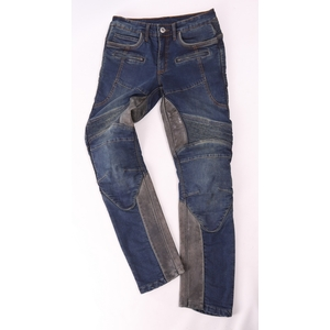 DEGNER Men's Denim Pants with Cup