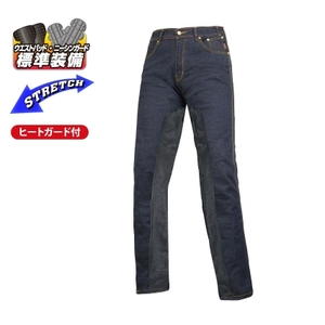ROUGH&ROAD Стрейч Denimheat Guardpants