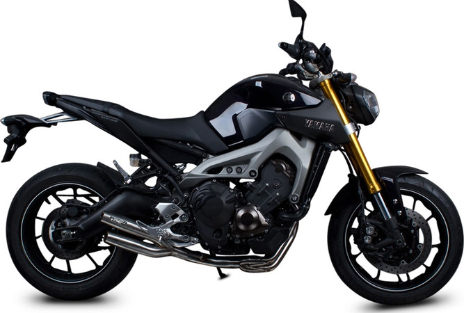 SpeedPro COBRA Urban Killer 3in1 Road Legal/eec/abe Homologated Yamaha MT-09/FJ-09/FZ-09/XSR 900 Exhaust System