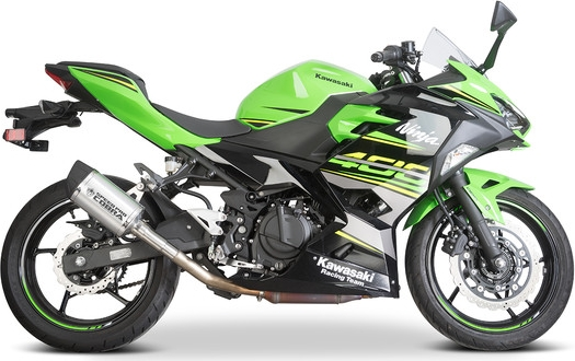 SpeedPro COBRA GP2-RR Slip-on Road Legal/eec/abe Homologated Kawasaki Ninja 400/ninja 250/Z400 Slip-on Silencer