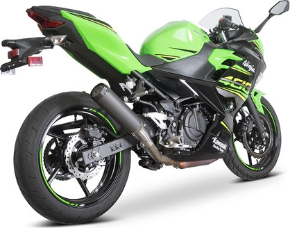 SpeedPro COBRA SPX Slip-on Road Legal/eec/abe Homologated Kawasaki Ninja 400/ninja 250/Z400 Slip-on Silencer