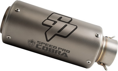 SpeedPro COBRA SP1 Slip-on Honda CRF 1000 L Africa Twin Slip-on Silencer