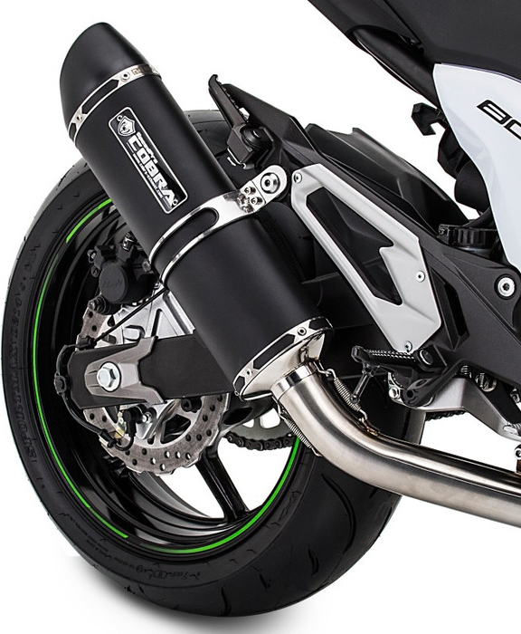 SpeedPro COBRA SC3 Black Series Supershort Slip-on Road Legal/eec/abe Homologated Suzuki GSX 1250 FA Slip-on Silencer