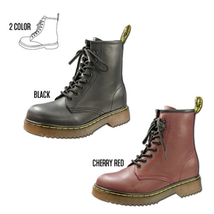 Motobluez Inside Heel Lace-up Boots (Dr. Marten Type)