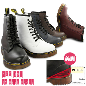 Motobluez In Heel Innebygd Lace Up Boots (Doctormartin Type) damer