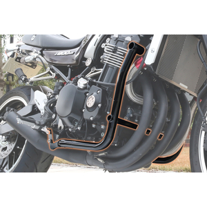 PMC(Performance Motorcycle Creative) Shroud / pipe sett