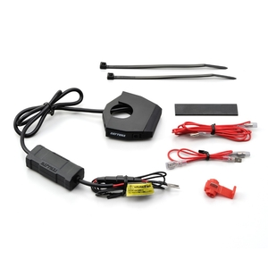 DAYTONA Motorcycle Exclusive Power Supply Slender USB 2 Port 4. 8 A