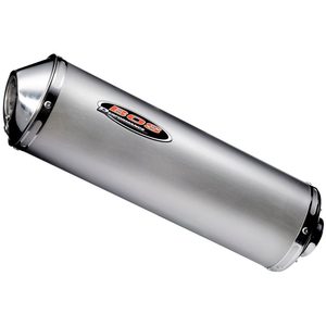 BOS OVAL Slip-on Silencer