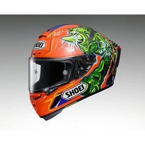 SHOEI X-14 POWER RUSH [TC-8] Helmet [Scheduled to be Released in May 2019]