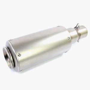 RISE CORPORATION GP Short Silencer Can Type Fake Titanium Slip-on Silencer