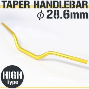 RISE CORPORATION Taper Handlebar Fat Bar Higtype H