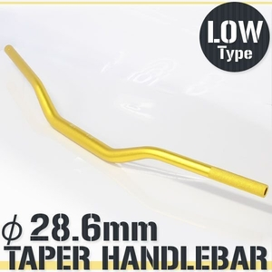 RISE CORPORATION Taper Handlebar Fat Bar Lowtype