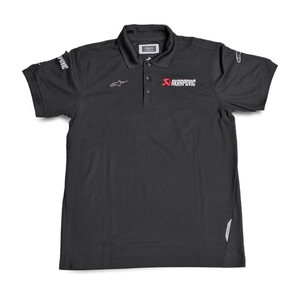 AKRAPOVIC Men's Polo Shirt AKRAPOVIC ALPINESTARS