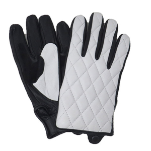 Motobluez [ HEAVY ] Diagramstitch Goat Leather Gloves