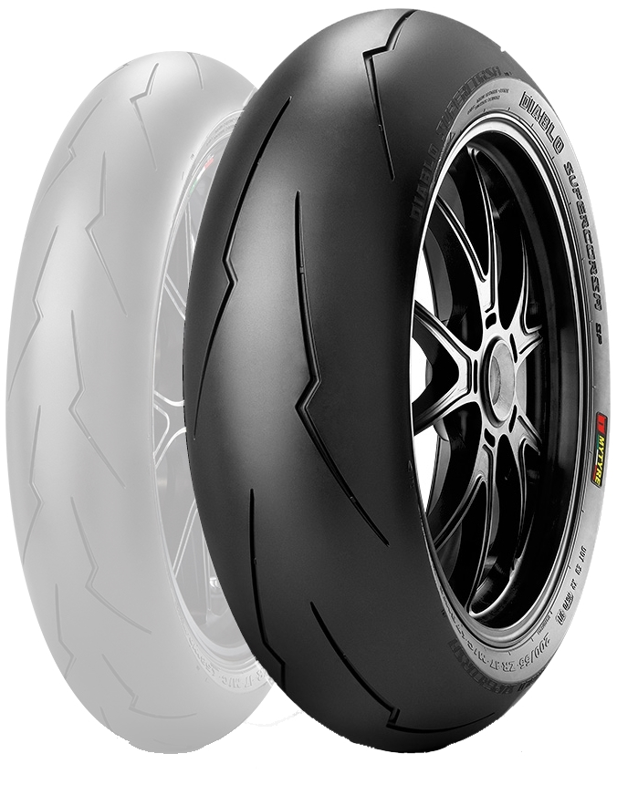 PIRELLI В Diablo SUPERCORSA SP в В3 [150/60 ZR в 17 м/c 66 Вт ТЛ] В Diab