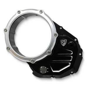 CNC Racing Clear cover oil bath clutch Ducati BICOLOR