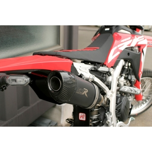 SMR [Power Core] Slip-on Silencer Racing Exhaust System Oval