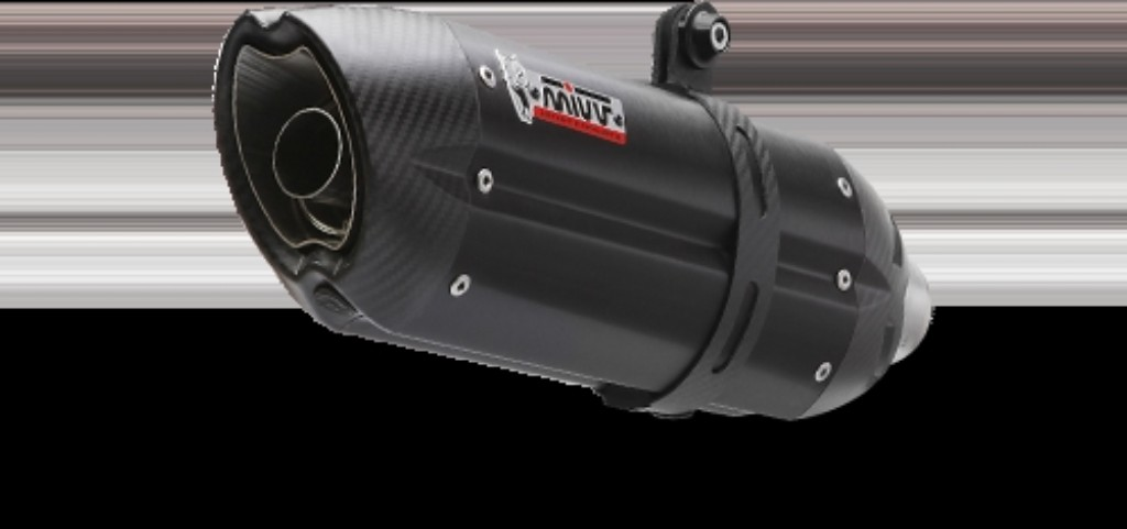 MIVV SUONO BLACK Full Exhaust System