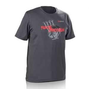 AKRAPOVIC Lifestylet-Shirt RACE BEWÄHRT