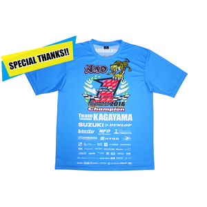 Team KAGAYAMA [Thanks Sale] Team KAGAYAMA x HYOD J-GP2 Champion T-Shirt