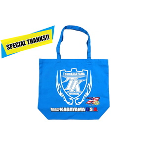 Team KAGAYAMA [Thanks Sale] Team KAGAYAMA 2018 SUZUKA 8 hours Team KAGAYAMA U.S.A. Big Canvas Tote Bag
