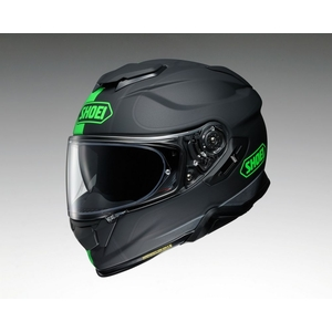 SHOEI GT-AIRII REDUX TC-4 (Green/Black) Matte Color Helmet