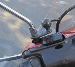 【RAM MOUNT】11mm球型面板基座 RAM-B-252U - 「Webike-摩托百貨」
