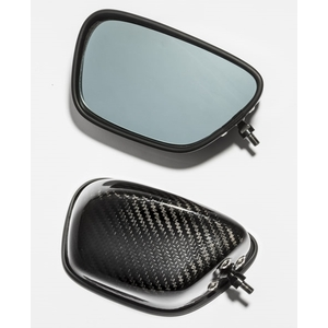 A-TECH Full Adjustable Dry Carbon Mirror Set