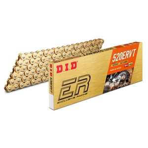 DID ER Series Chain 520ERVT Gold [Light Press Fit Clip (FJ) Joint Included]