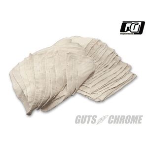 GUTSCHROME Cut Towel Waste Used Cloth White 2kg