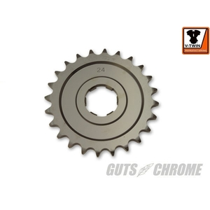 GUTSCHROME [V-TWIN] Front Sprocket 24T
