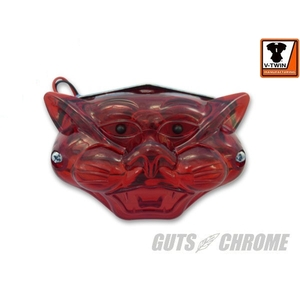 GUTSCHROME [V-TWIN] Cat Face Tail Lamp