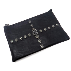 Motobluez 3way SKULL Helmcross Clutch Bag Schultertasche