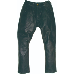 RIDEZ [SugarRidez] TAPERED LEATHER PANTS for Ladies