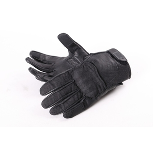 DEGNER Leatherdenimcombination Glove