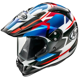 Arai TOUR - CROSS 3 AVSTILLING [Tour Cross 3 De Perch Blue] Hjelm