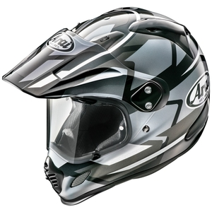 Arai TOUR - CROSS 3 DEPARTURE [ Tour Cross 3 De Perch Color:Gray ] Helmet
