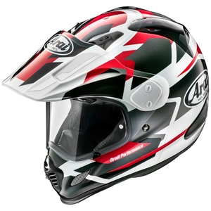 Arai TOUR - CROSS 3 DEPARTURE [ Tour Cross 3 De Perch Red ] Helmet