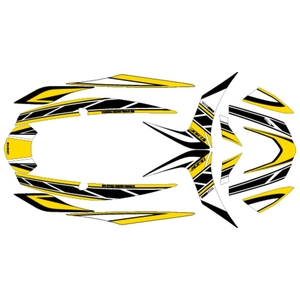 MDF CYGNUS X Strobe Graphic Decal Kit by Vehicle Type