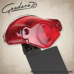 GOODS Mirror 38 ET Side License Plate Kit SR400/SR500