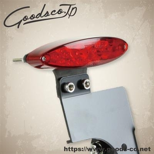 GOODS LED Oval Tail Side License Plate Kit SR400/SR500
