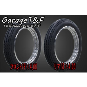 GARAGE T&F unilli Vintage TIRE (Front/Back) Set (19 & 18-inches)