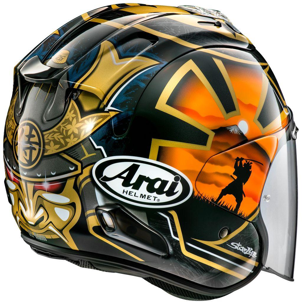 Arai Vz Ram Samurai Helmet W 49 P25597467