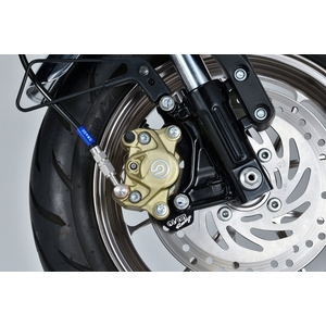 OVER RACING Front Caliper Support Brembo 2P/4P