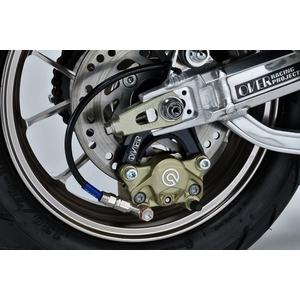 OVER RACING Rear Caliper Support Brembo 2P/4P Lower Mount (Lower Side)