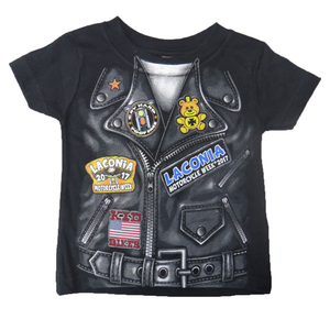 Motobluez [LACONIA BIKE WEEK 2017] (Kids) Short Sleeve T-shirt