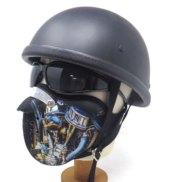 Motobluez [MASCA] Neoprene Half Face Mask [Engine B]